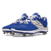 Low-Cut 3000v2 Metal Cleat, Blue with Silver