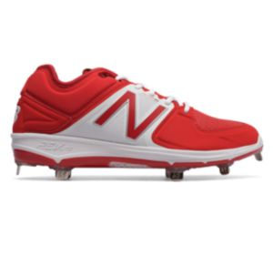 뉴발란스 New Balance Low-Cut 3000v3 Metal Baseball Cleat,Red