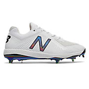 Miami Sunset Pack Low-Cut 4040v4 Metal Cleat, White
