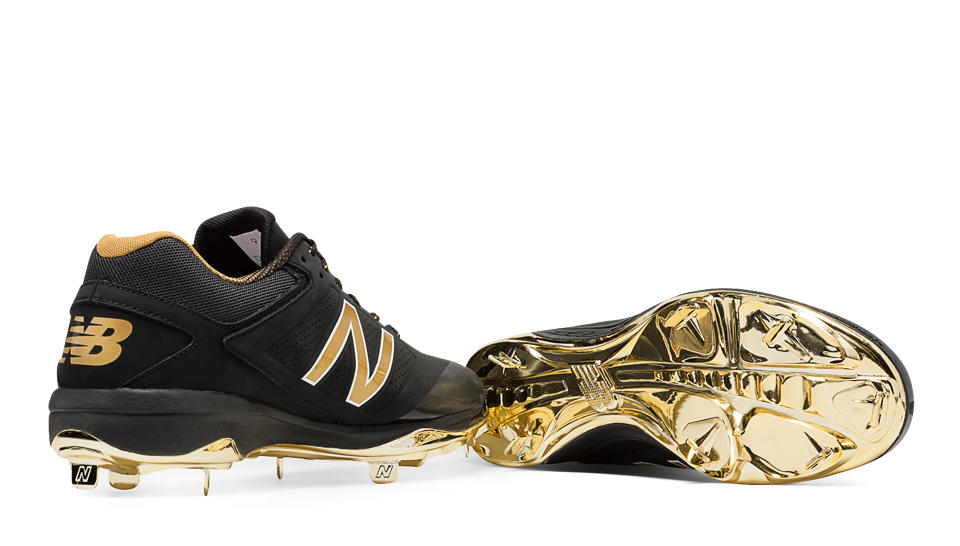 New Balance Gold And Black