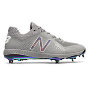 Miami Sunset Pack Low-Cut 4040v4 Metal Cleat, Grey with White