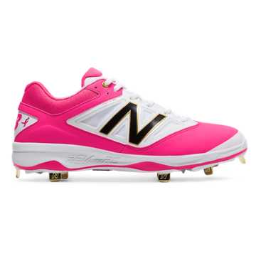 New Balance Mothers Day Low-Cut 4040v3, White with Hot Pink & Black