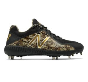 뉴발란스 New Balance Low-Cut 4040v4 Metal Baseball Cleat,Black