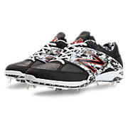 Pedroia Low-Cut 4040v2, Black with White