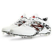 Pedroia Low-Cut 4040v2, White with Black