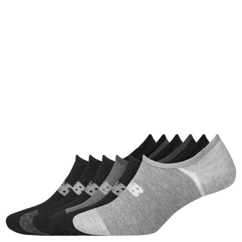 New Balance Men\\\'s & Women\\\'s No Show Liner Socks 6 Pack
