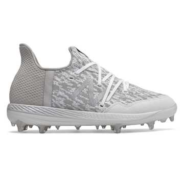 26eb152b2dd1 Lindor Baseball Cleat , White with Grey