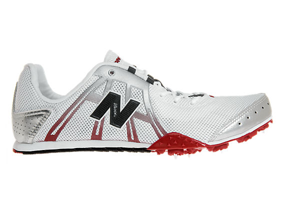 New Balance 606, White with Red & Black