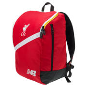 New Balance LFC Large Backpack, High Risk Red with White & Amber Yellow