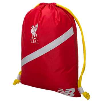 New Balance LFC Gym Bag, High Risk Red with White & Amber Yellow