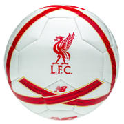 LFC Training Ball, White with High Risk Red & Amber Yellow