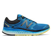 NB Fresh Foam 1080v7, Electric Blue with Hi-Lite