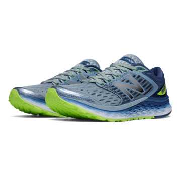New Balance Fresh Foam 1080, Grey with Lime Green