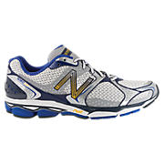 New Balance 1080v2, Silver with Blue