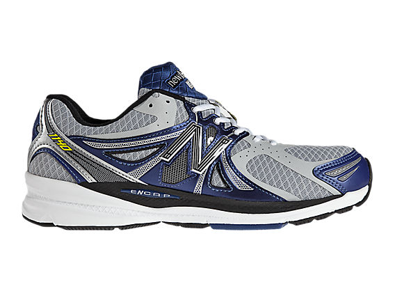 New Balance 1140, Silver with Blue