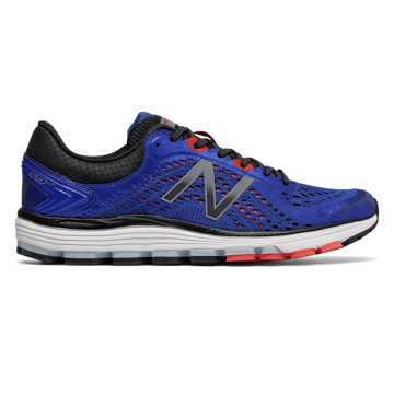 New Balance 1260v7, Pacific with Black & Flame
