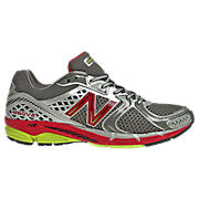 New Balance 1260v2, Silver with Red & Black