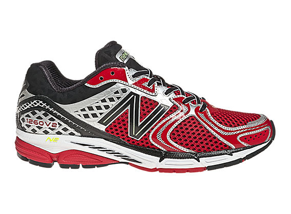 Limited Edition 1260v2, Red with Black & Silver