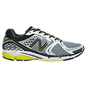New Balance 1260v2, White with Black & Yellow