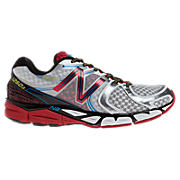 New Balance 1260v3, White with Red & Silver
