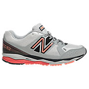 New Balance 1290, Silver with Orange & Black
