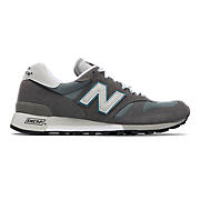 New Balance 1300, Grey with White & Blue