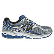 New Balance 1340, Silver with Blue
