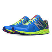 New Balance 1400v4, Blue with Green
