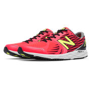 New Balance 1400v4, Red with Black & Toxic