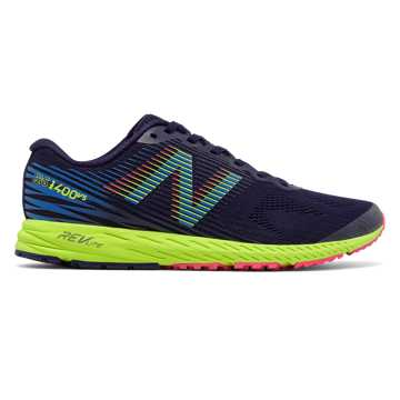 New Balance New Balance 1400v5, Dark Denim with Electric Blue & Lime Glo
