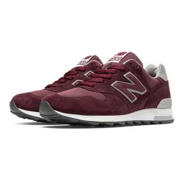 New Balance 1400 Heritage, Burgundy with Silver