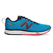 Men's 1500v4, Blue with Flame & Black