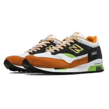 New Balance 1500 Made in UK 90s, Caramel Cafe with Black & Green Apple
