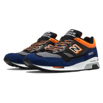 New Balance 1500 90s Outdoor, Blue with Charcoal & Orange