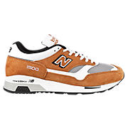 New Balance 1500, Orange with Light Grey & Black