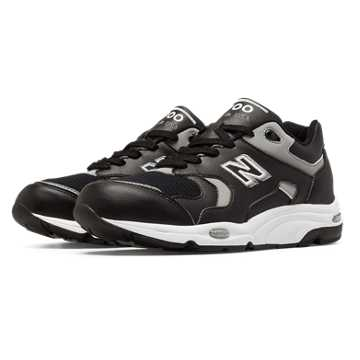New Balance 1700 Heritage, Black with Silver