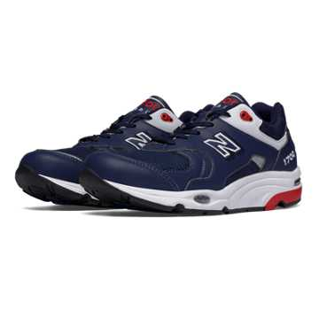 New Balance 1700 Heritage, Navy with Red