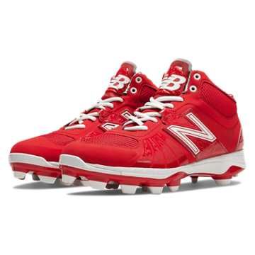 New Balance Mid-Cut 2000v2 TPU Molded Cleat, Red