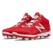 Mid-Cut 2000v2 TPU Molded Cleat, Red