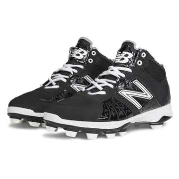 New Balance Mid-Cut 2000v2 TPU Molded Cleat, Black