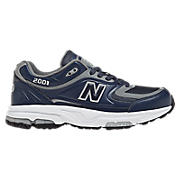 New Balance 2001, Navy with Grey & White