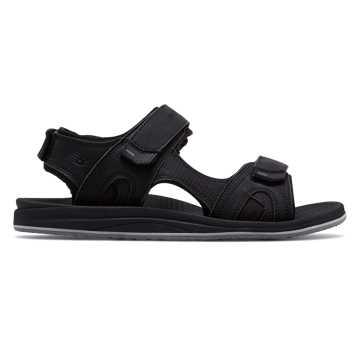 New Balance PureAlign Recharge Sandal, Black