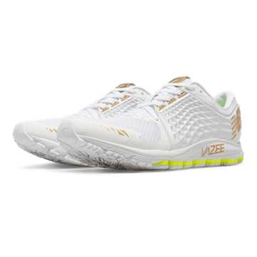 New Balance Vazee 2090 Glory, White with Gold & Toxic