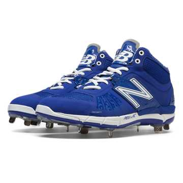 New Balance Mid-Cut 3000v2 Metal Cleat, Blue