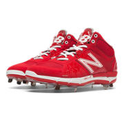 Mid-Cut 3000v2 Metal Cleat, Red