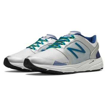 New Balance New Balance 3040, White with Silver & Classic Blue
