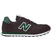 New Balance 373, Brown with Green