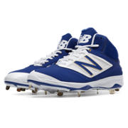 Mid-Cut 4040v3 Metal Cleat, Royal Blue with White