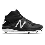Mid-Cut 4040v4 Metal Cleat, Black with Black
