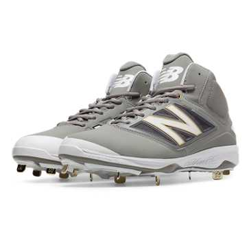 Mid-Cut 4040v3 Metal Cleat, Grey